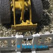 Wedico Radlader Caterpillar 966 GII mit Braeker-Lock Schnellwechsler | Quick coupler for RC wheel loader