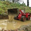 Modell Radlader O&K L25 im Wasser | RC wheel loader in water