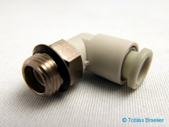 "G1/8"" - 6mm winkel Steckverschraubung 