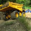 CAT 777D im Braeker Modell Steinbruch  | At RC quarry